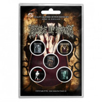 CRADLE OF FILTH - Button Badge set