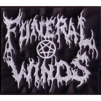 FUNERAL WINDS - Logo - Embr. Patch