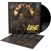 GRAVE - Burial ground (LP)