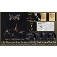MAYHEM - DE MYSTERIIS DOM SATHANAS (25TH ANNIVERSARY BOX SET) (5LP + BOOK)