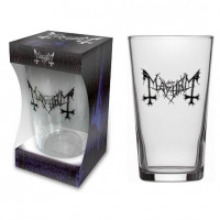 MAYHEM - LOGO (BEER GLASS)
