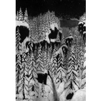 PAYSAGE D'HIVER - Schattengang - Lim A5 digibook