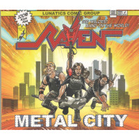 RAVEN (UK) - Metal City