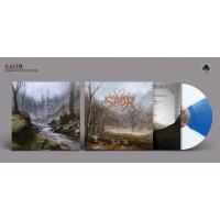 SAOR - Forgotten Paths (white and blue vinyl)