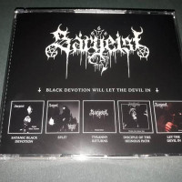 SARGEIST - BLACK DEVOTION WILL LET THE DEVIL IN (5cd box)