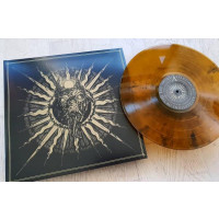 SVARTIDAUDI - Revelations of The Red Sword (amber vinyl)