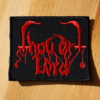 THOU ART LORD - Red Logo (Embroidered Patch)