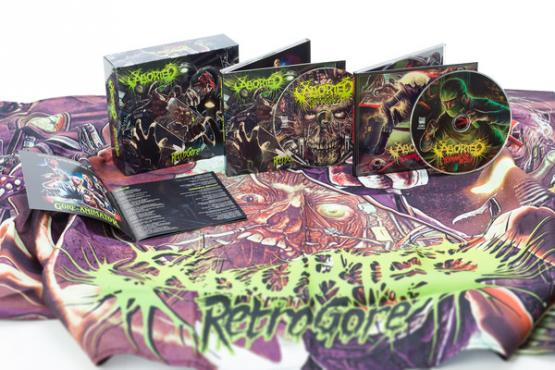 ABORTED Retrogore (Box Set)