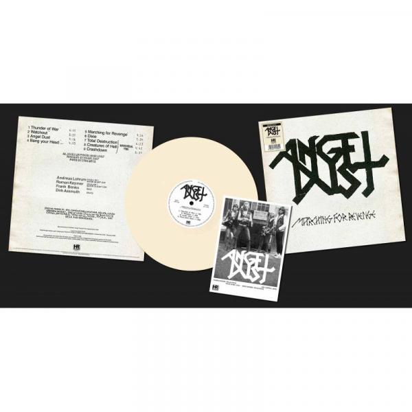 ANGEL DUST Marching for Revenge (bone vinyl)