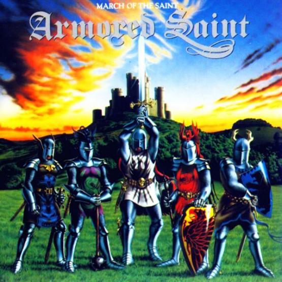 ARMORED SAINT March of the Saint (1995 press)