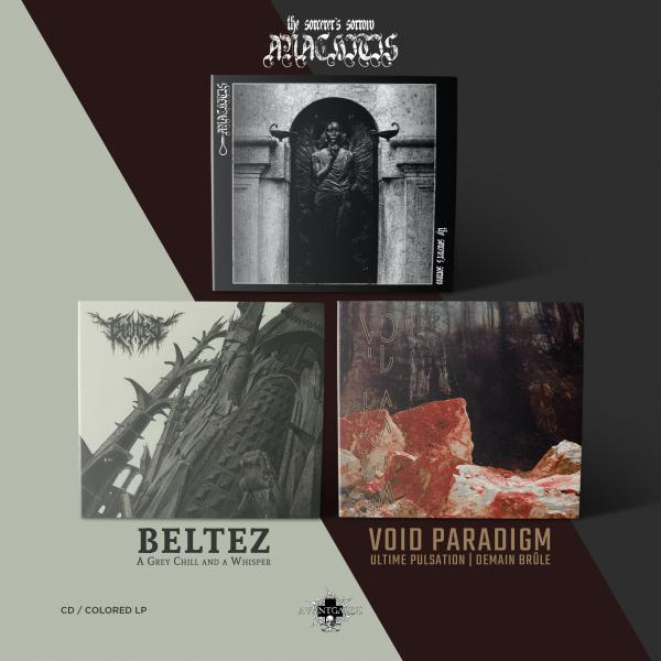 AVANTGARDE MUSIC November releases VINYL bundle (Sound Cave exclusive)