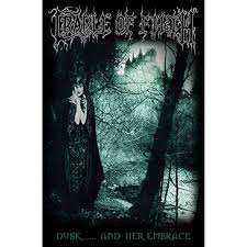 CRADLE OF FILTH Dusk and her embrace... - textile poster
