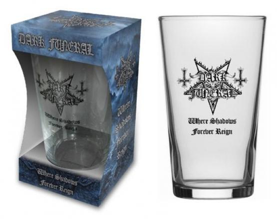 DARK FUNERAL WHERE SHADOWS FOREVER REIGN (BEER GLASS)