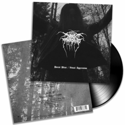 DARKTHRONE Burial Bliss / Visual Aggression