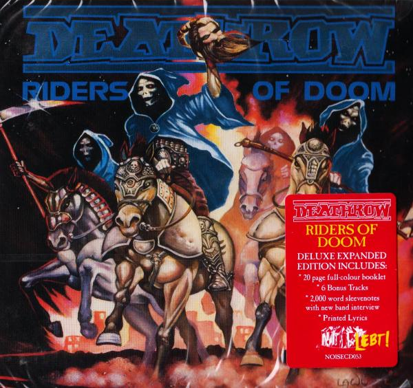 DEATHROW (GER) Riders of Doom (2018 2LP Colored vinyls)