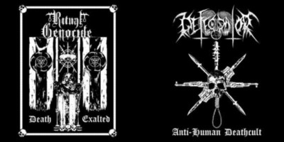 DEFECATOR - RITUAL GENOCIDE Anti-Human Deathcult/Death Exalted