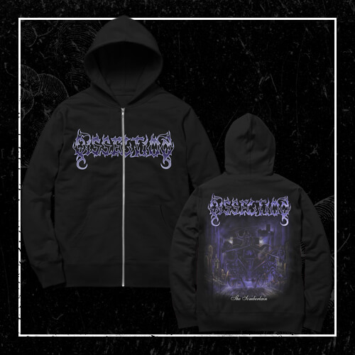 DISSECTION The somberlain  - Zip Up Hoodie L