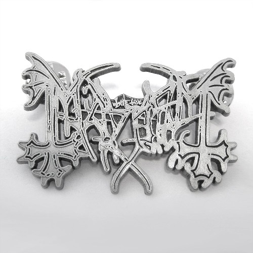 MAYHEM Logo - METAL PIN
