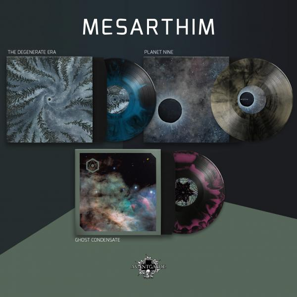 MESARTHIM Degenerate Era / Planet Nine / Ghost Condensate (3x LPs bundle)