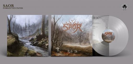 SAOR Forgotten Paths (clear vinyl)
