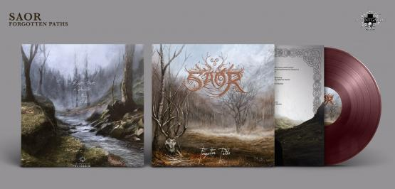 SAOR Forgotten Paths (oxblood vinyl)