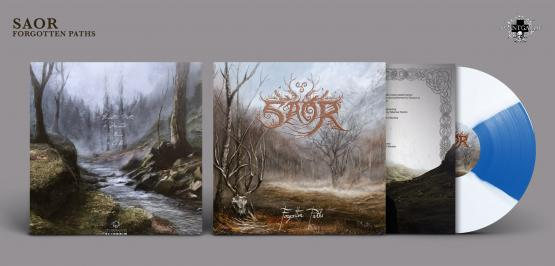 SAOR Forgotten Paths (white and blue vinyl)