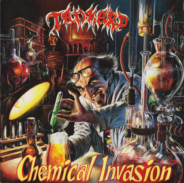 TANKARD  Chemical invasion (2017 reissue)