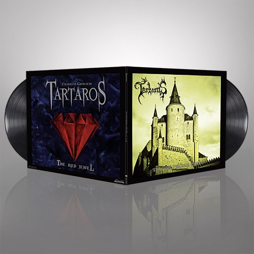 TARTAROS 'The Grand Psychotic Castle' + 'The Red Jewel' - (Black Vinyl)
