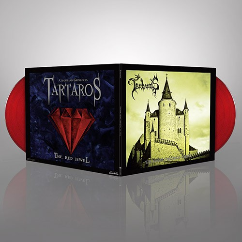 TARTAROS 'The Grand Psychotic Castle' + 'The Red Jewel' (Red Vinyl)